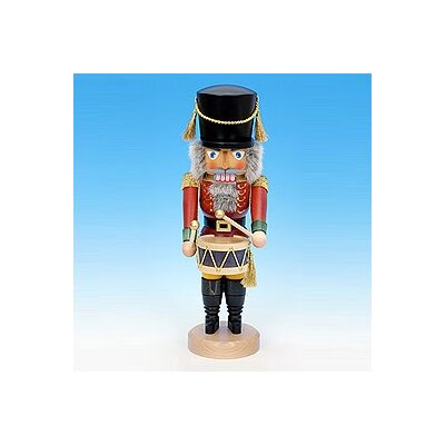 Red Drummer Nutcracker
