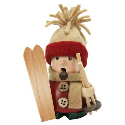Christian Ulbricht Skier Incense Burner