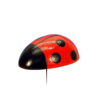 Christian Ulbricht Ladybug Tree Topper Size: Large