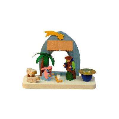 Graupner Nativity Scene Candleholder Tree Topper