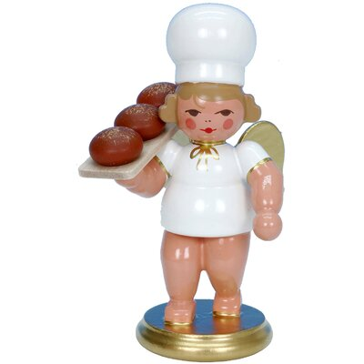 Christian Ulbricht Angel Baker Ornament with Bread