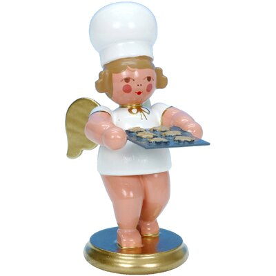 Christian Ulbricht Angel Baker Ornament with Cookies