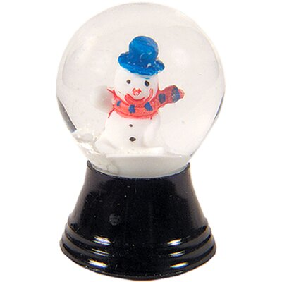 Alexander Taron Mini Snowman Snow Globe
