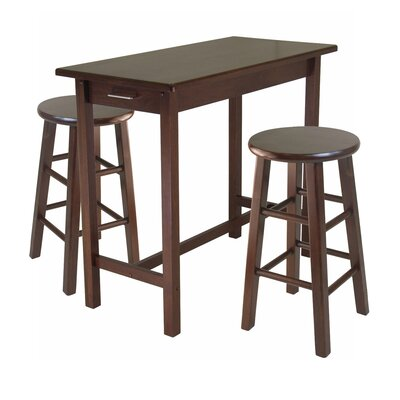 Winsome 3 Piece Breakfast Dining Set