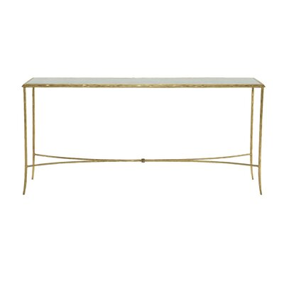 Evesham Metal Console Table