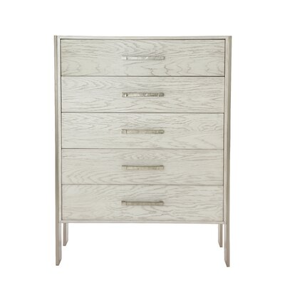 Madigan Tall 5 Drawer Accent Chest