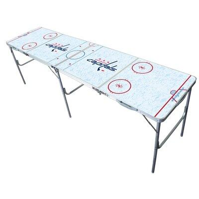 "NHL 2"" x 8"" Tailgate Table NHL Team: Washington Capitals"