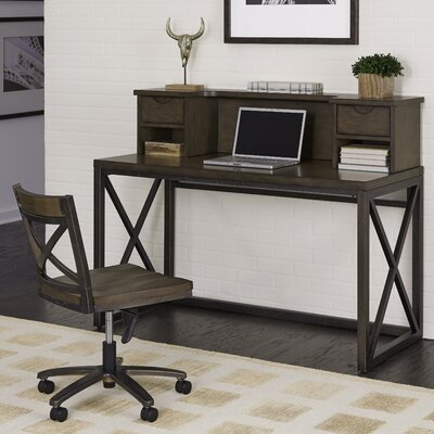 Xcel Writing Desk with Hutch and Chair Set