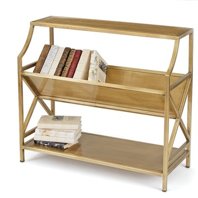 Periodical Two Shelf Standard Bookcase