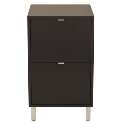 Southville 2-Drawer File Cabinet Finish: Unfinished, Wood Veneer: Cherry