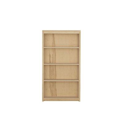 Kadon Standard Bookcase Wood Veneer: Maple, Finish: Ebony