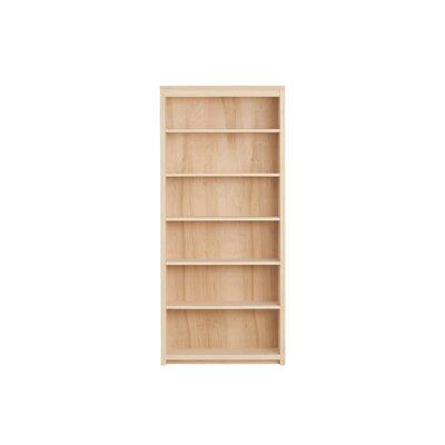 Kadon Standard Bookcase Wood Veneer: Maple, Finish: Fuchsia