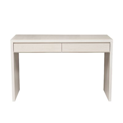 Kadon Console Table Wood Veneer: Maple, Color: Ebony