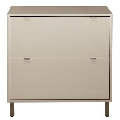 Southville 2 Drawer File Cabinet Finish: Toffee, Wood Veneer: Walnut