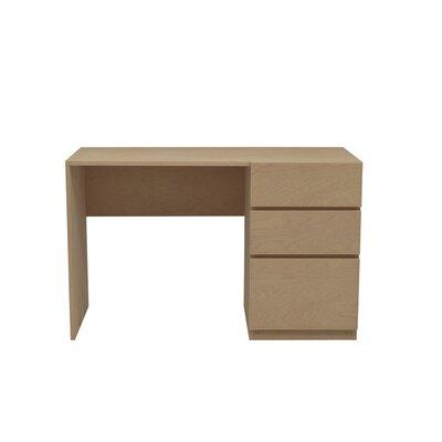 Kasie Desk Wood Veneer: Maple, Finish: Amber