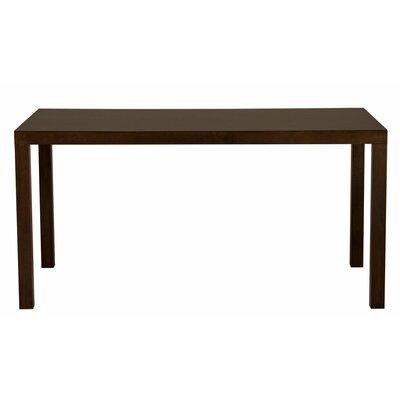 Parsons Dining Table Wood Veneer: Maple, Finish: Amber