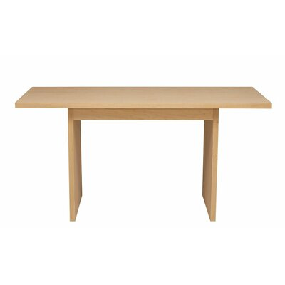 Kadon Dining Table Wood Veneer: Maple, Finish: Blue