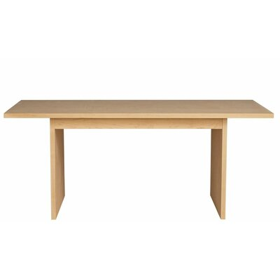 Kadon Dining Table Wood Veneer: Maple, Finish: Amber