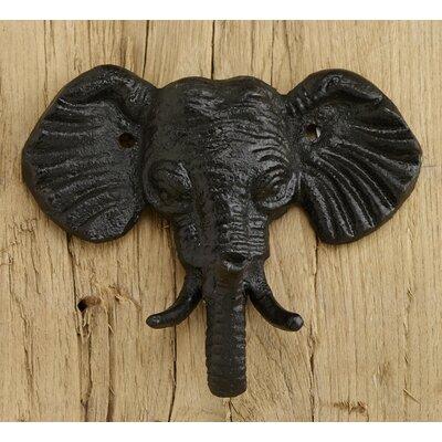 Iron Elephant Trunk Wall Hook