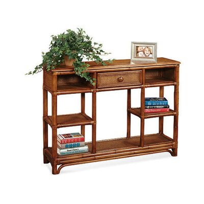 Summer Retreat Console Table Color: Honey