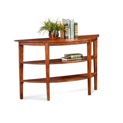 Concord Console Table Color: Bisque