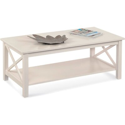 Compass Console Table Color: White