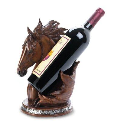 Asner Horse 1 Bottle Tabletop Wine Rack