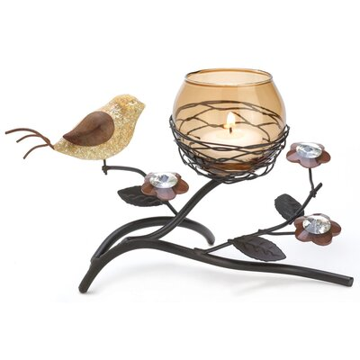Zingz & Thingz Bird Nest Iron Votive