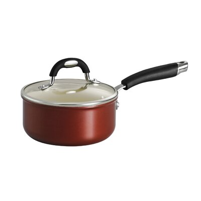 Style Ceramica Sauce Pan with Lid Size: 1.5-qt.