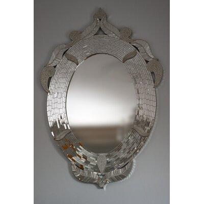 Claire Nayman Mosaics Palazzo Oval Mirror