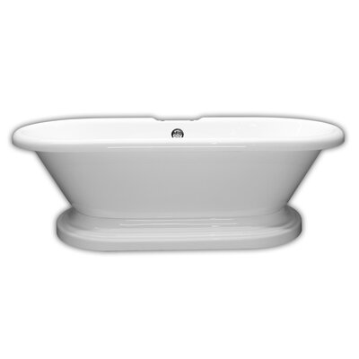 "70"" x 31"" Freestanding Bathtub Faucet Mount: No"