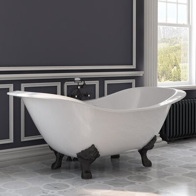 "72"" x 30"" Freestanding Bathtub"