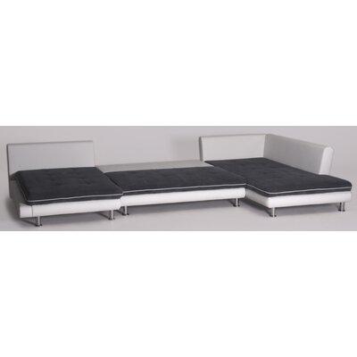 Cavadore Ecksofa Lounge mit Bettfunktion