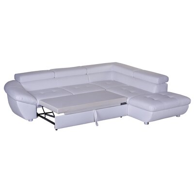 Cavadore Ecksofa Astoria mit Bettfunktion