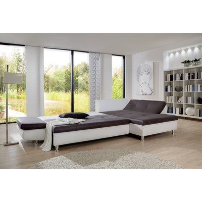 Cavadore Ecksofa Coucho mit Bettfunktion