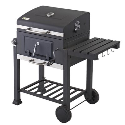 "Tepro ""Toronto"" Trolley Grill with Thermometer"