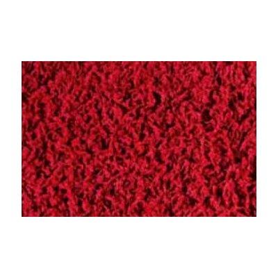Peyer Syntex Teppich Shaggy Uni in Rot