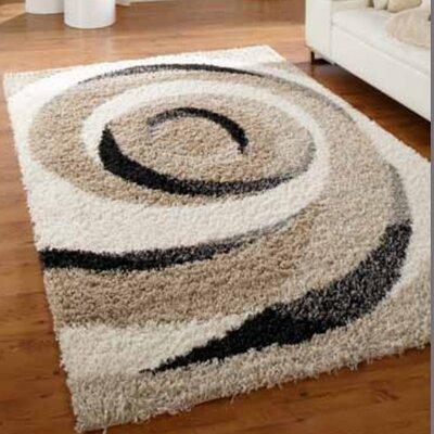 Peyer Syntex Teppich Domino Wirbel in Ivory