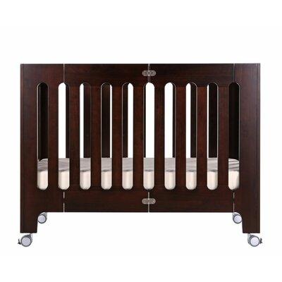 Alma Folding Portable Crib Color: Cappuccino