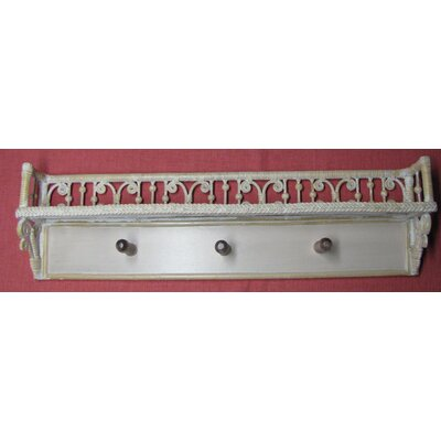 Victorian Coat Rack Finish: Whitewash