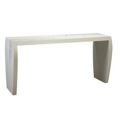 Kepler Negroni Console Table Color: Vanilla