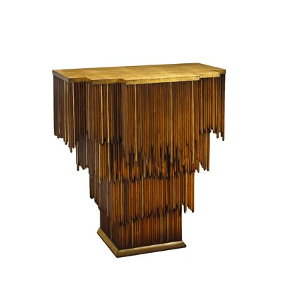 "Kepler Mai Tai Entry Console Table Size: 32"" H x 30"" W x 18"" D"