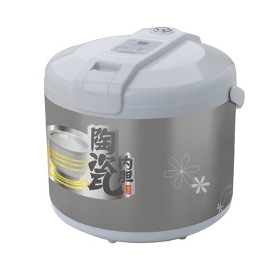 Ceramic Rice Cooker Size: 4 Cups