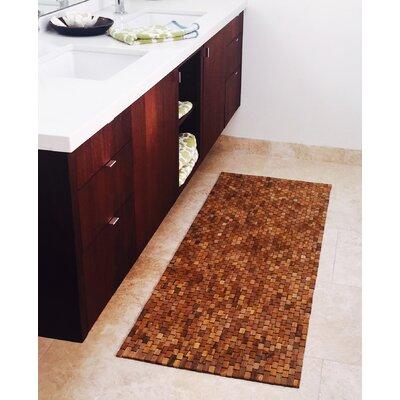 Egidio Teak Floor/Bath Runner