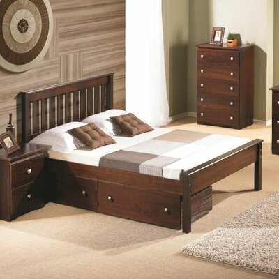 Hopkins Full/Double Storage Platform Bed Color: Dark Cappuccino