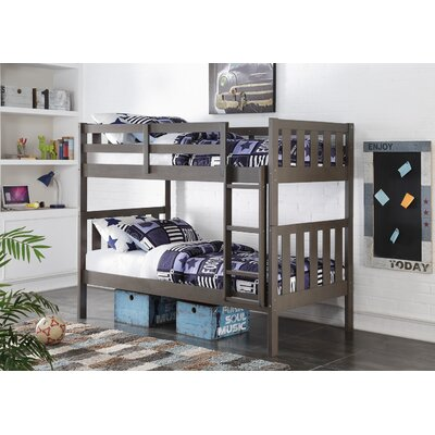 Chrisley Wide Mission Twin over Twin Bunk Bed