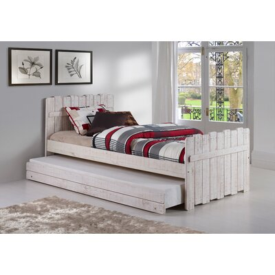 Wander Twin Panel Bed with Trundle