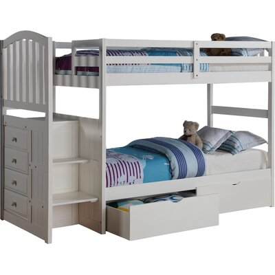 Churchman Twin over Twin Bunk Bed with Storage