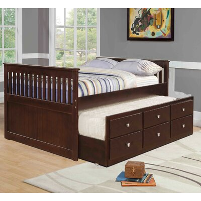 Belfield Full Captain Bed with Trundle