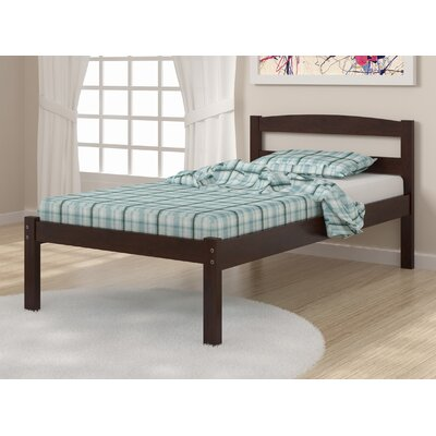 Hillam Full/Double Platform Bed Size: Full, Color: Dark Cappuccino